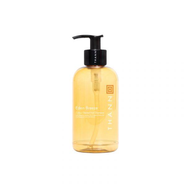 THANN Eden Breeze Color Treated Hair Shampoo with Organic Jojoba Oil, Organic Olive Oil and Organic Corn Silk Extract 250 ml