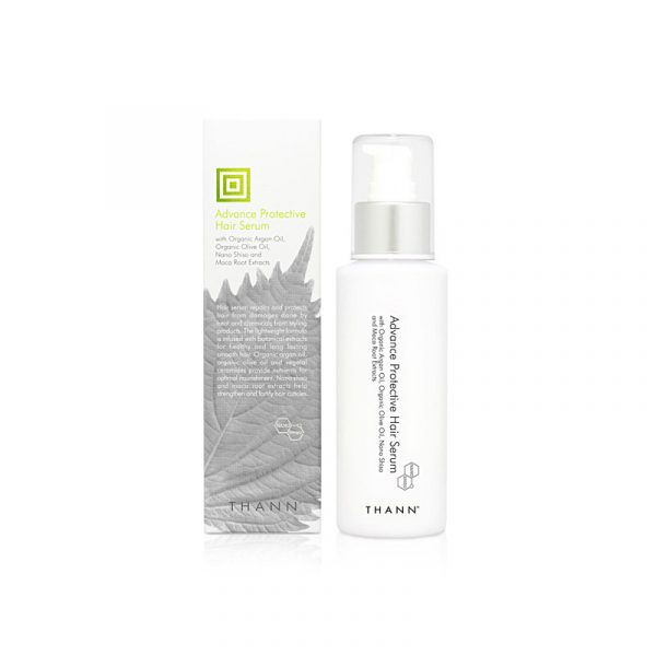 THANN Advance Protective Hair Serum with Organic Argan Oil, Organic Olive Oil, Nano Shiso and Maca Root Extracts 100 ml.