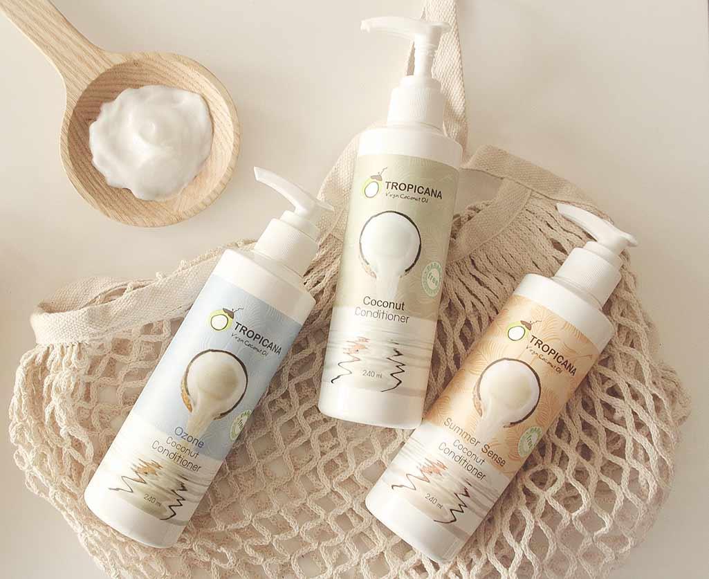 Tropicana Coconut Oil Conditioner Products